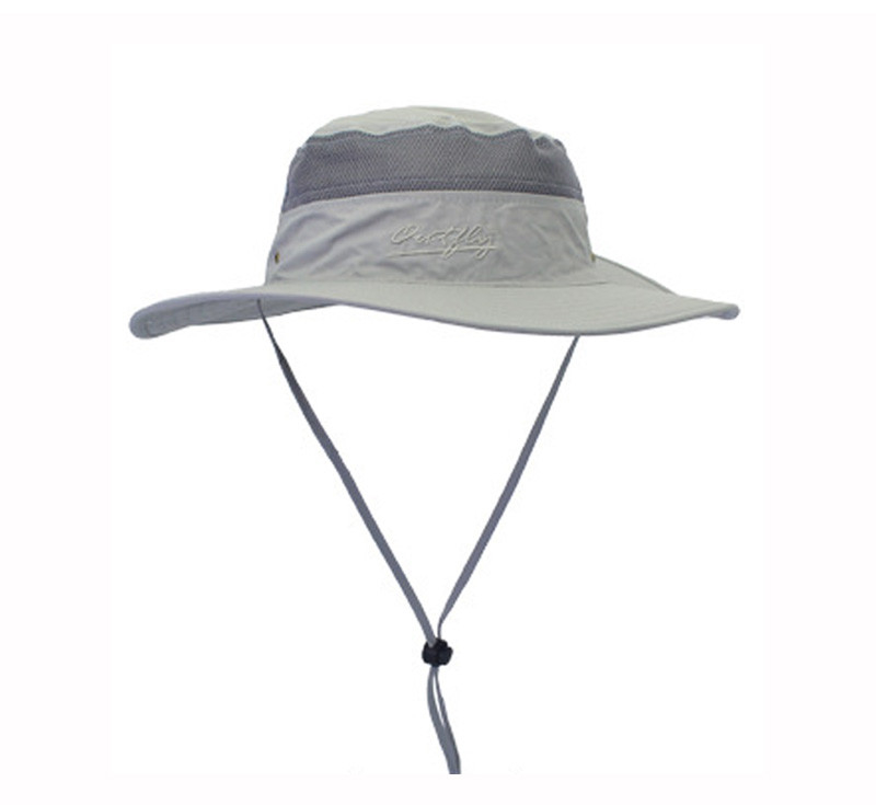 Outdoor Sunscreen Removable Face Neck Flap Floppy Sun Hats With Embroidered Logo
